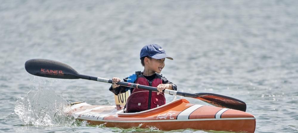 Kid-in-a-Kayak
