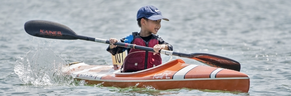 Kid-in-a-Kayak